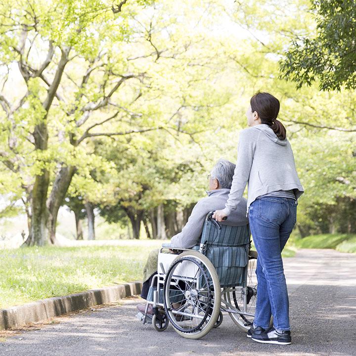 家族の希望をくみ取った介護スタイル